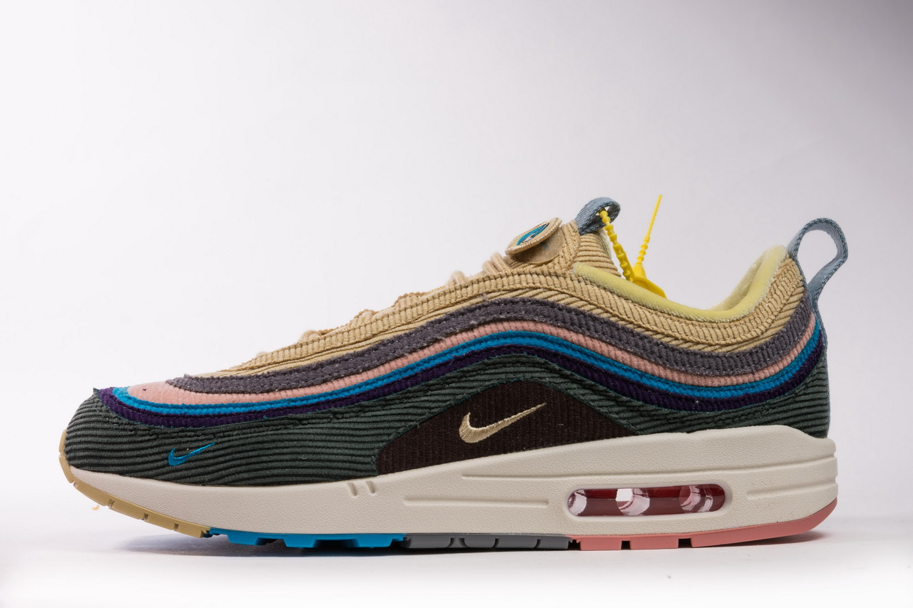 Nike Air Max 1/97 Sean Wotherspoon AJ4219-400 Running Shoes for ...