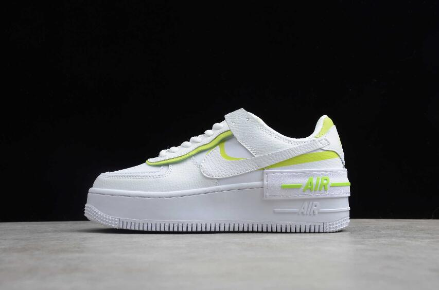 carbohidrato tener Mirar fijamente  Nike Air Force 1 Shadow White Fluorescent Green CI0919-104 « The New Nike  Air Force 1 Shoes