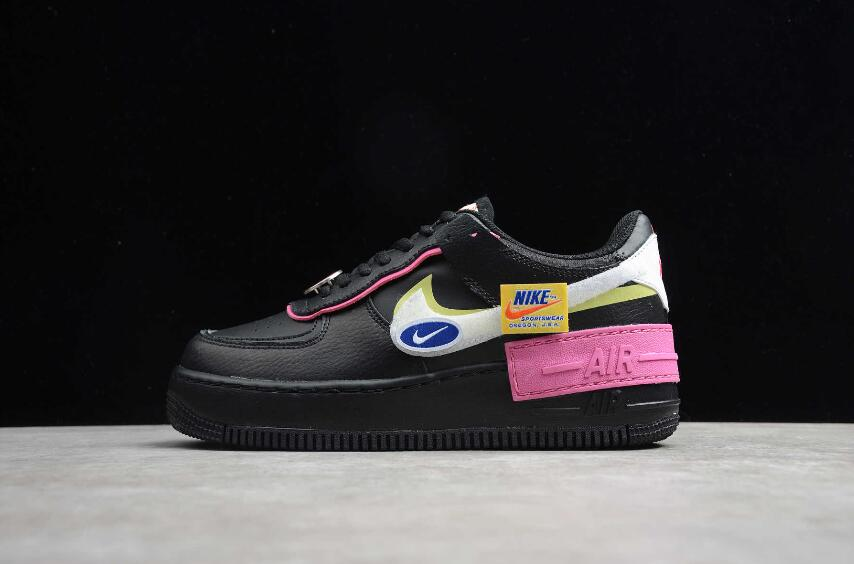 Nike Air Force 1 Shadow Black White Limelight Cu4743 001 The New Nike Air Force 1 Shoes Dropping in 1982, the nike air force 1 sneaker revolutionised basketball trainers forever. nike air force 1 shadow black white